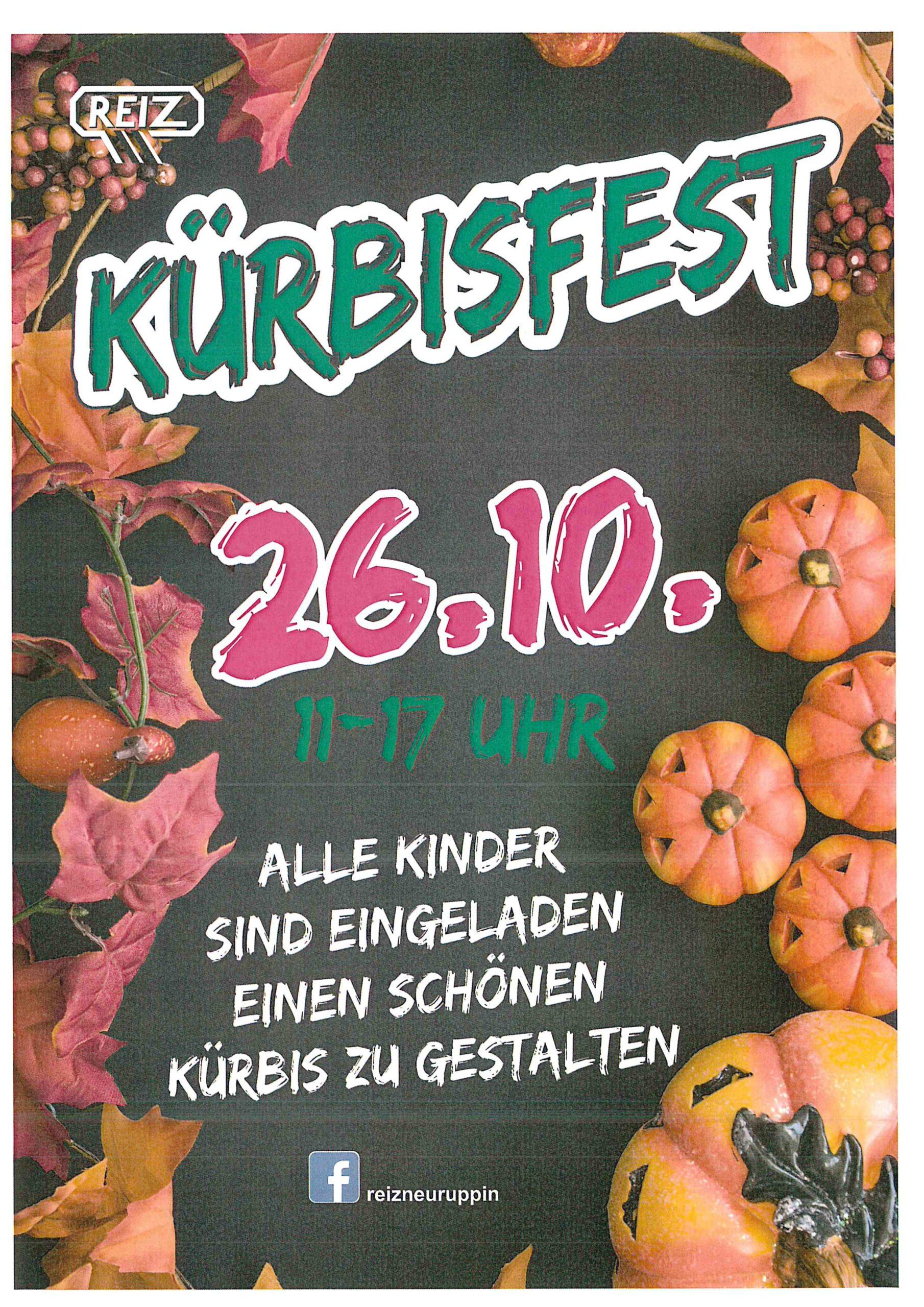 Kürbisfest am 26.10.2019